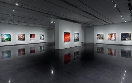 """David Maisel / Black Maps – American Landscape And The Apocalyptic Sublime.""  CU Art Museum, CO"