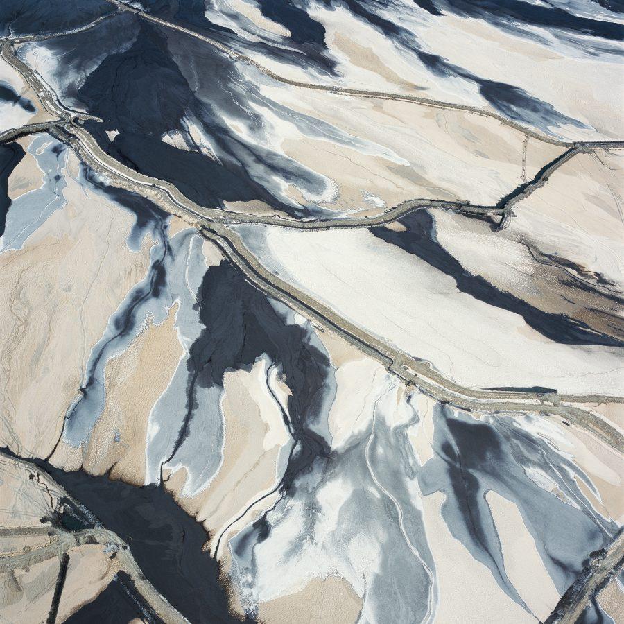 Tailings Pond 1, Minera Centinela, Copper Mine, Antofagasta Region, Atacama Desert, Chile