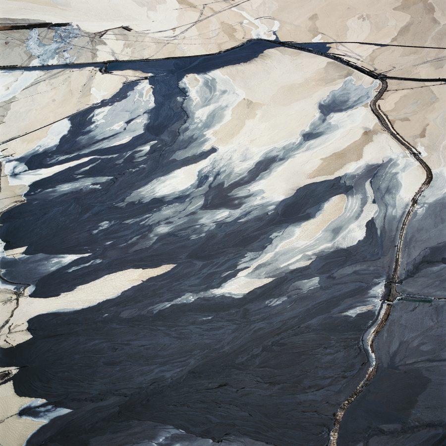 Tailings Pond 2, Minera Centinela, Copper Mine, Antofagasta Region, Atacama Desert, Chile