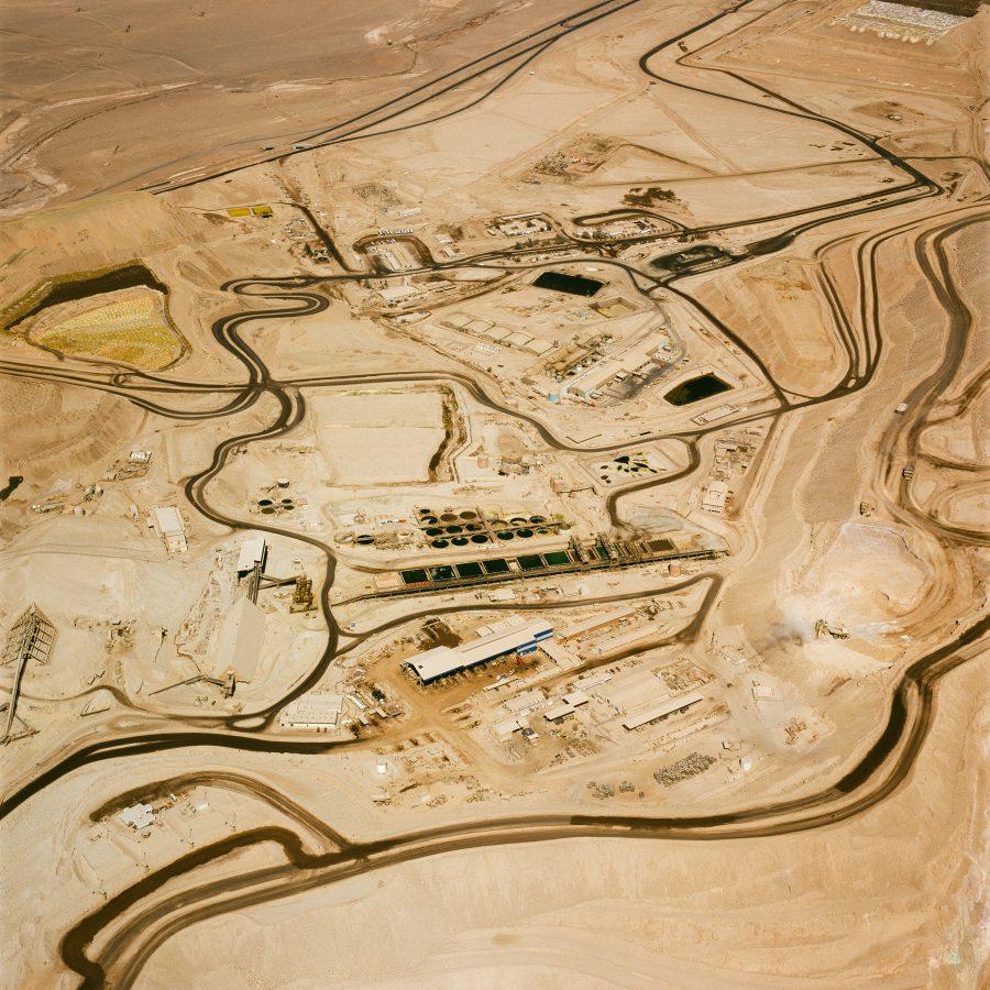 Vicinity Of Copper Mine Mantos Blancos Antofagasta Chile