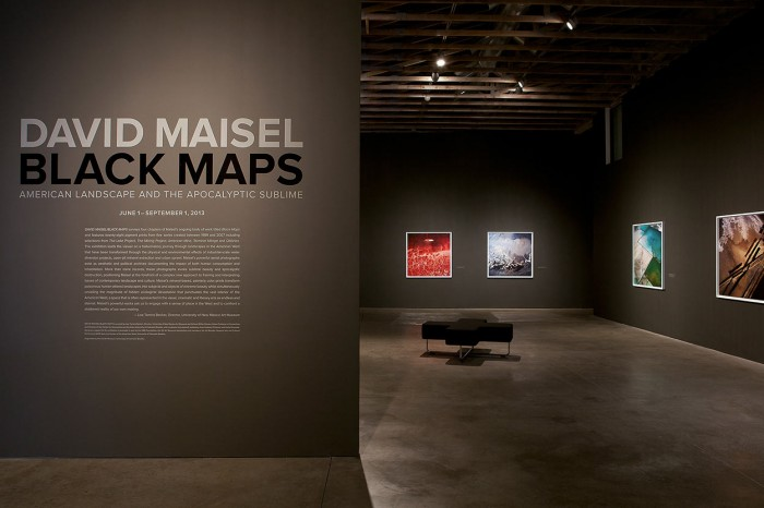 David Maisel / Black Maps – American Landscape and the Apocalyptic